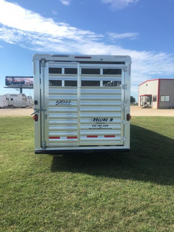 2021 Exiss Trailers STC 8032 LQ Livestock Trailer