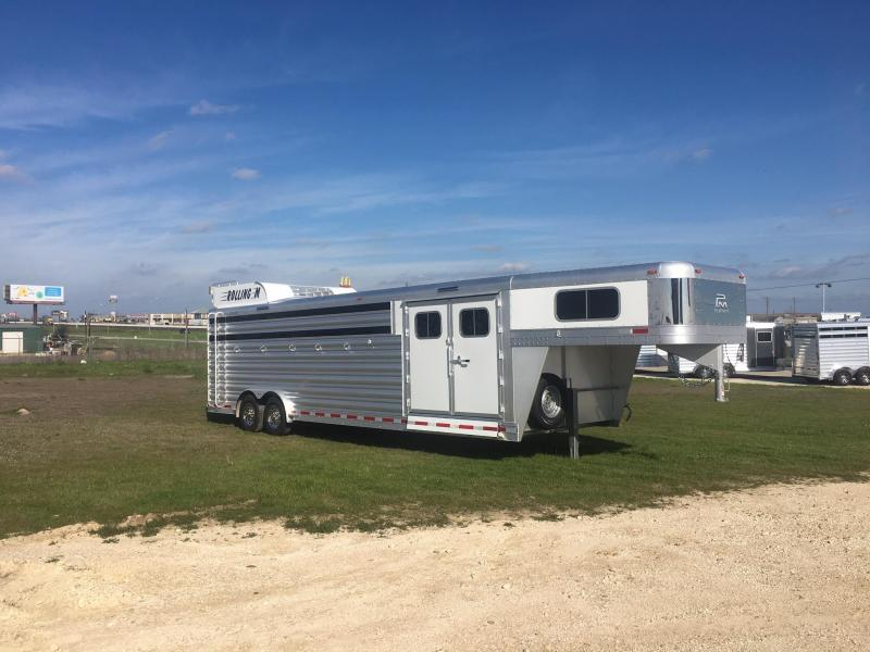 2022 Platinum Coach 6 Horse 8 Wide Trailer Special with Smart Tack Horse Trailer