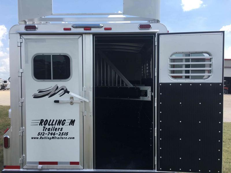2022 Platinum Coach 3 Horse Bumper Pull Horse Trailer