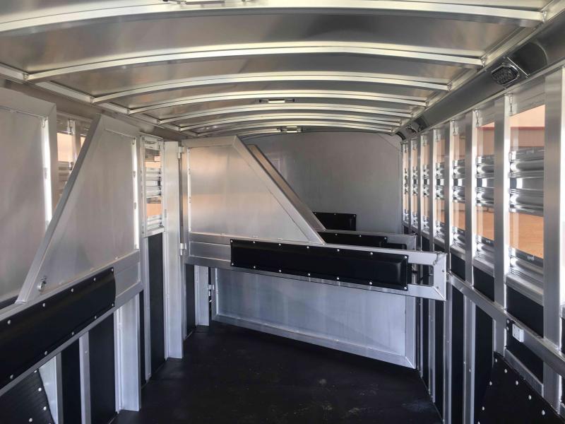 2021 Platinum Coach 6 Horse Horse Trailer
