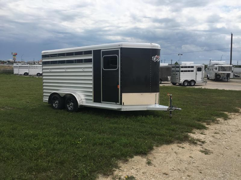 2020 Exiss Trailers 3 Horse Bumper Pull CXF Horse Trailer