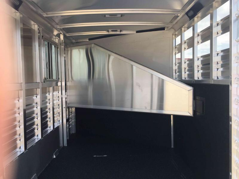 2021 Exiss Trailers 2 Horse CXF Bumper Pull Horse Trailer