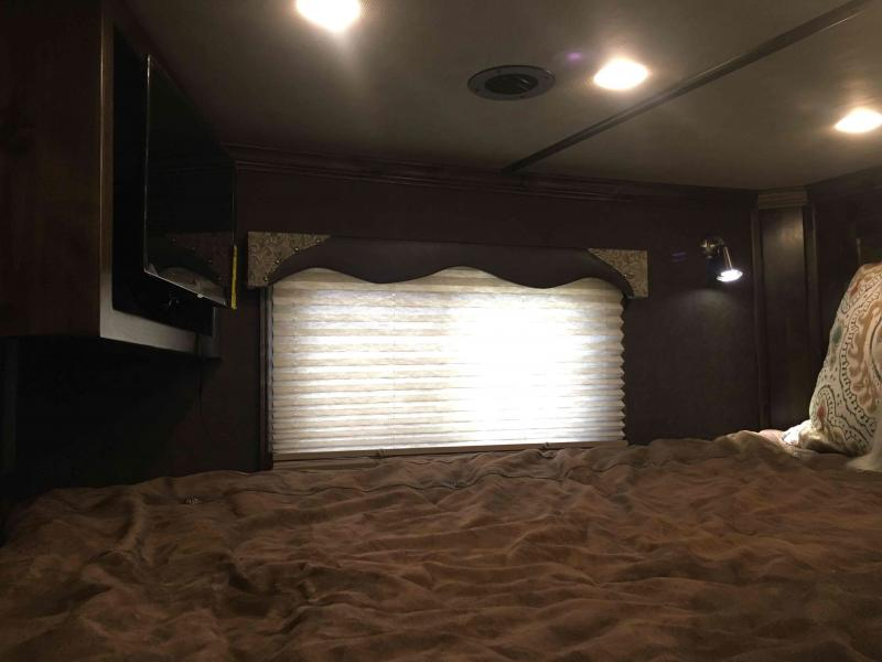 2021 Platinum Coach 5 Horse Slide Out with a 13.8 ft SW Horse Trailer