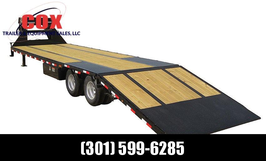 "2019 Load Trail 102"" X 32' Tandem Low-pro Gooseneck Equipment Trailer"