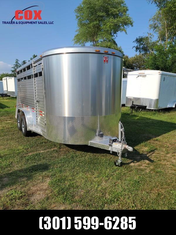 2021 W-W Trailer All Aluminum Bp STock Trailer Livestock Trailer