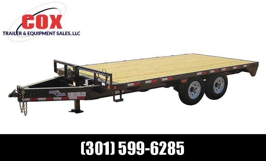 "2019 Load Trail 102"" X 24' Tandem Standard Pintle Hook Equipment Trailer"
