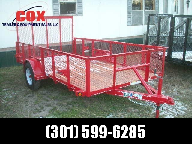 2020 Texas Bragg Trailers 12 LANDSCAPE MESH SIDES A SERIES Utility Trailer