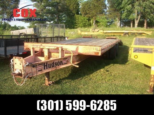 2001 HUDSON PH 9-TON Equipment Trailers