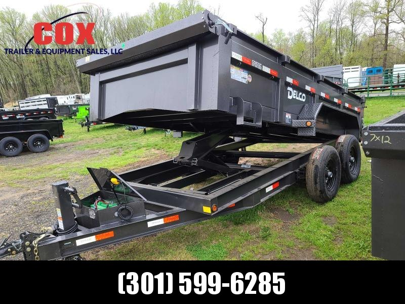 2021 Delco Trailers 14 FT EXTREME DUTY DUMP TRAILER Dump Trailer