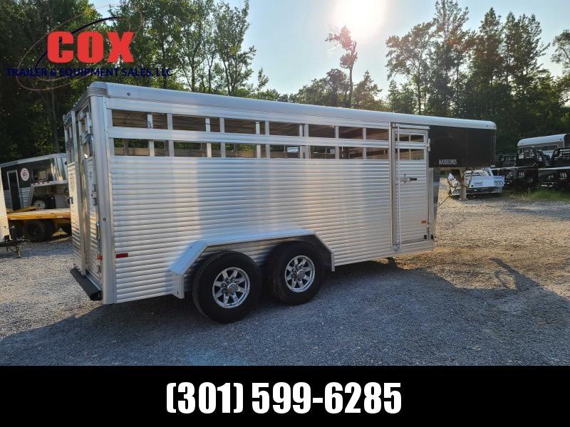 2020 Sundowner Trailers 16' EXSPRESS GN STOCK TRAILER Livestock Trailer