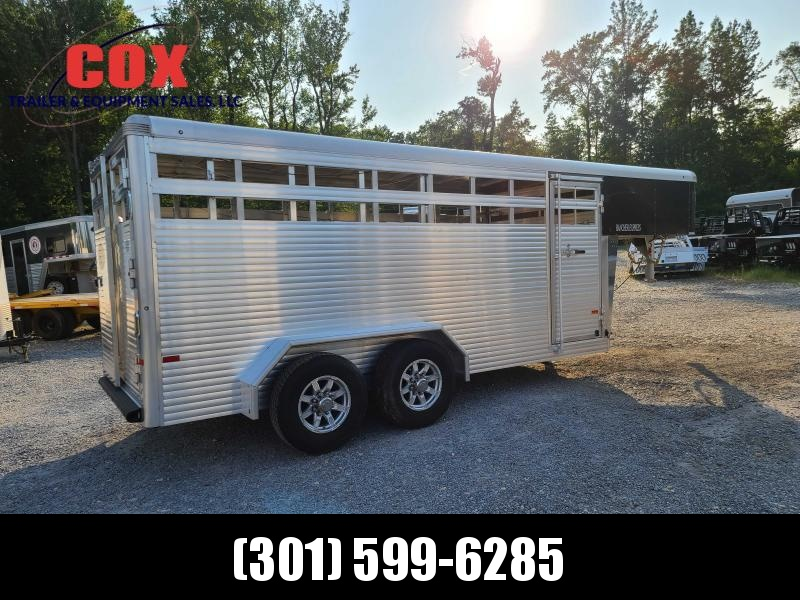 2020 Sundowner Trailers 16' EXSPRESS GN STOCK TRAILER Livestock Trailer