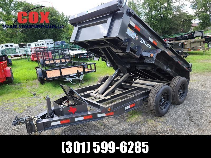 2021 Delco Trailers lo-pro 10ft dump Dump Trailer