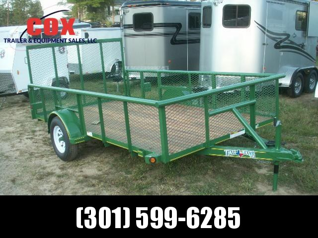 2019 models Texas Bragg Trailers 12 LANDSCAPE SPECIAL Utility Trailer