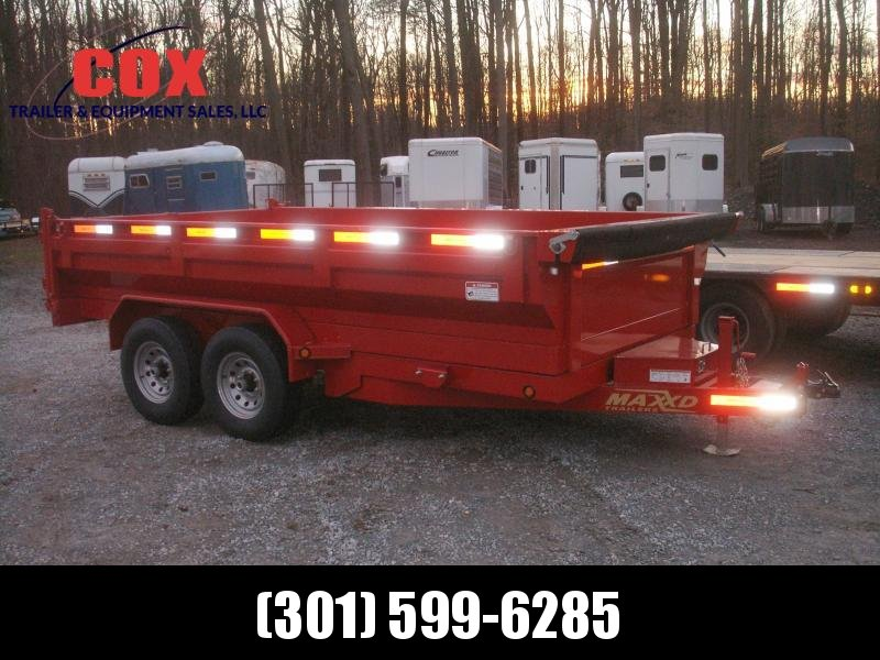 2018 Maxxd Trailers 14 WIDE BODY DUMP TRAILER Dump Trailer
