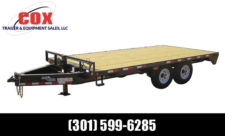 "2019 Load Trail 102"" X 20' Tandem Standard Pintle Hook Equipment Trailer"