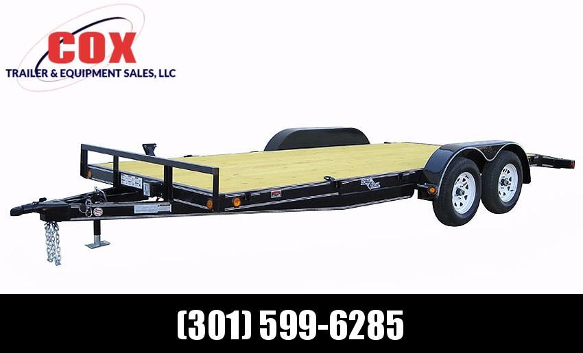 "2019 Load Trail 83"" X 18' Tandem Axle Carhauler Car / Racing Trailer"