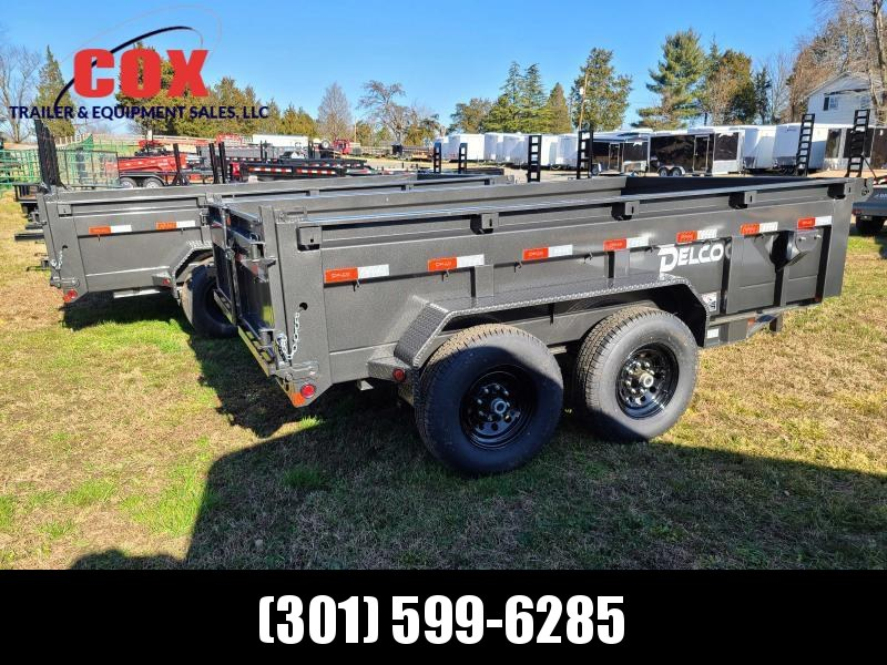 2021 Delco Trailers EXTREME DUTY DUMP 12' LONG Dump Trailer
