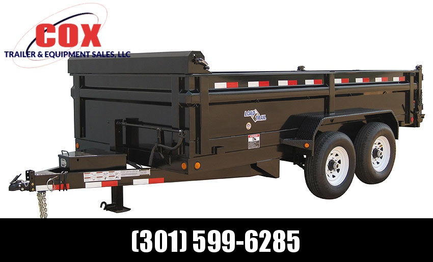 "2019 Load Trail 83"" X 16' Tandem Axle Dump Dump Trailer"