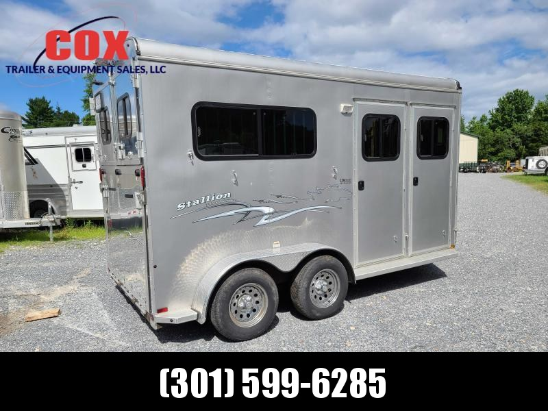 2016 Stallion Horse Trailers 2-H BP WARMBLOOD SIZED Horse Trailer
