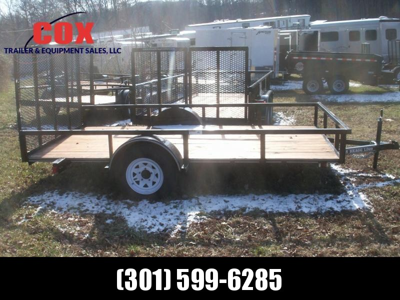 2019 Texas Bragg Trailers LD 29 12 W/GATE Utility Trailer