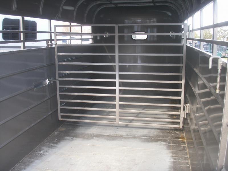 2020 W-W Trailer HD BP STEEL STOCK TRAILER Livestock Trailer