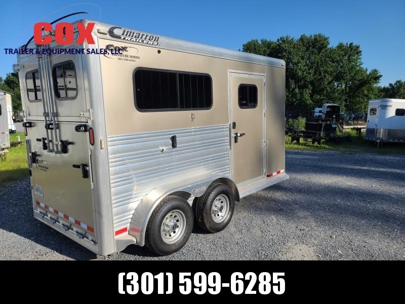 2015 Cox Signature Series 2-H SIGNATURE WARM BLOOD BP Horse Trailer