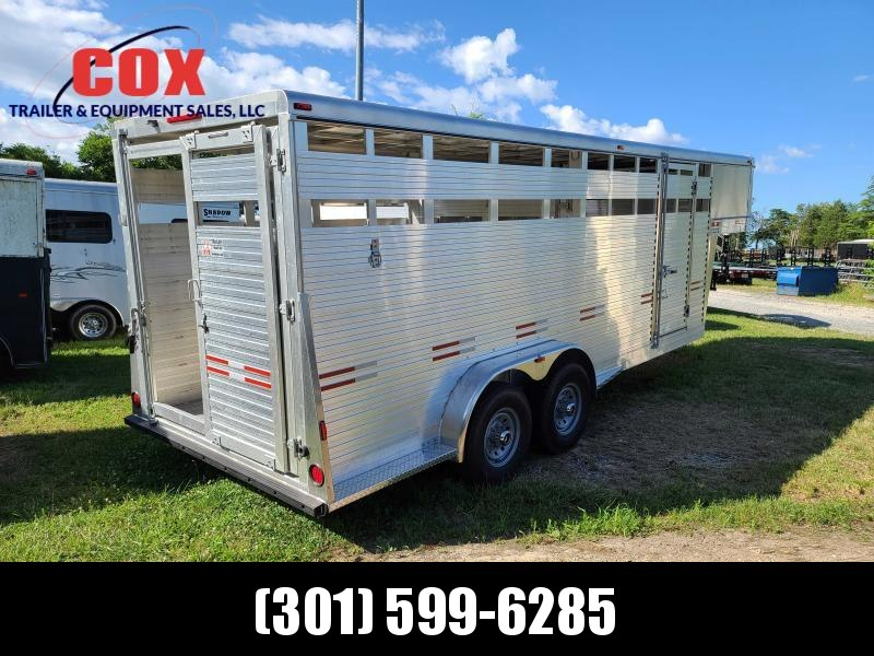 2020 W-W Trailer 20 GN STOCK 7'HEIGHT Livestock Trailer
