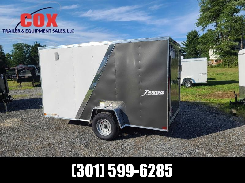 2021 Homesteader Trailers 12 INTREPID V-NOSE TWO TONE Enclosed Cargo Trailer