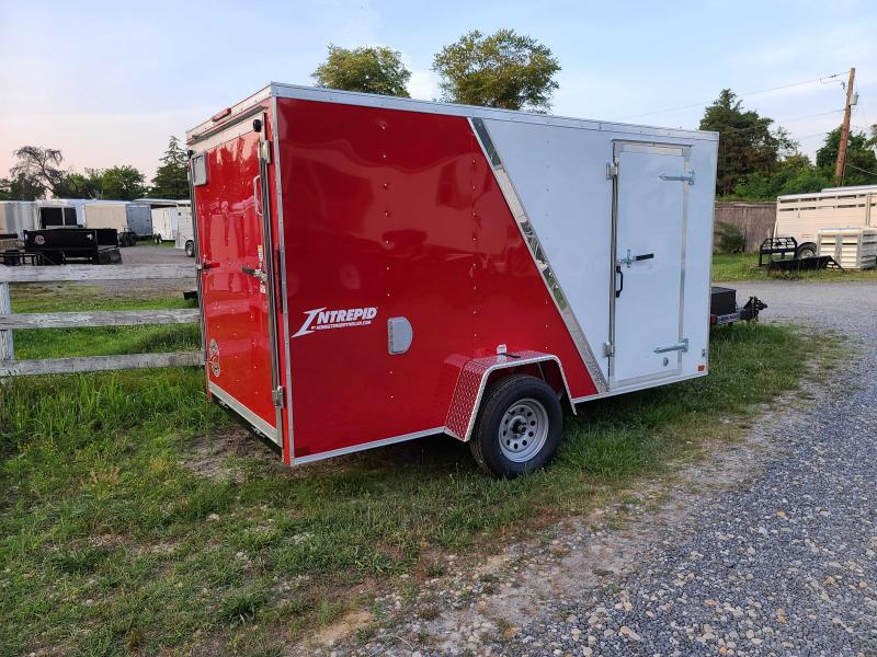 2021 Homesteader Trailers 6 X 12 V-NOSE RAMP DOOR Enclosed Cargo Trailer