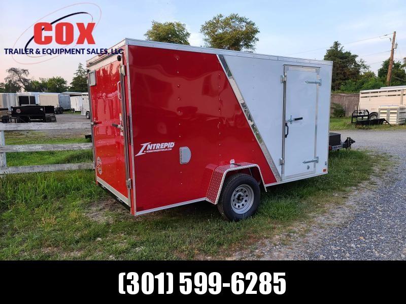 2021 Homesteader Trailers 6 X 12 V-NOSE RAMP DOOR Enclosed Cargo Trailer