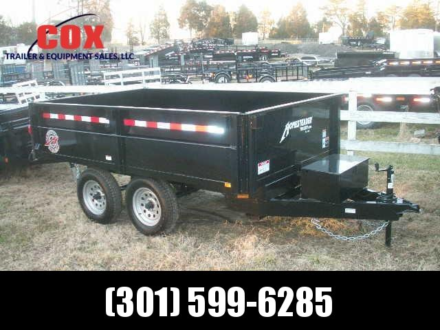 2016 Homesteader 6 10 D/O Dump Trailer