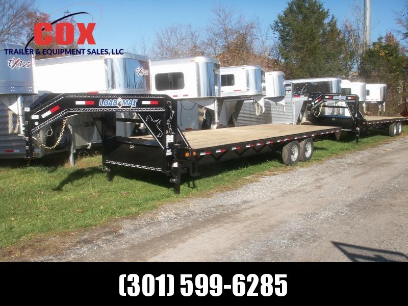 2016 Load Trail gooseneck flatbed straight floor with ramps Equipment Trailer