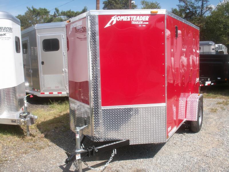 2020 Homesteader Inc. PATRIOT 10 V-NOSE Enclosed Cargo Trailer