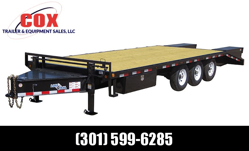 "2019 Load Trail 102"" X 22' Tandem Heavy Duty Pintle Hook Equipment Trailer"