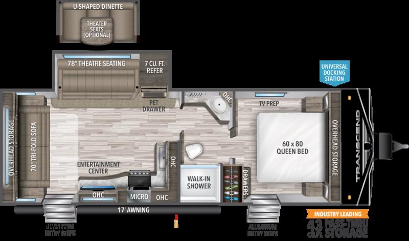 2021 Grand Design RV Transcend Xplor 245 RL Travel Trailer