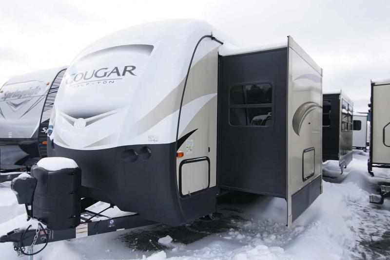 2019 Keystone RV Cougar Half-Ton 33 SAB Travel Trailer