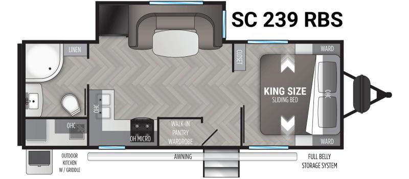 2021 Cruiser RV Shadow Cruiser 239 RBS Travel Trailer
