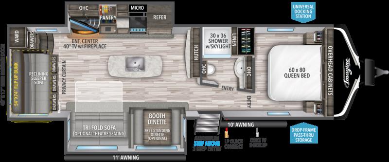 2021 Grand Design RV Imagine 3110 BH Travel Trailer