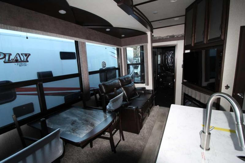 2019 Grand Design RV Momentum 397 TH Toy Hauler