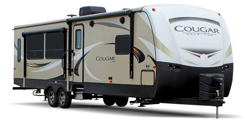 2018 Keystone RV Cougar Half-Ton 27 RES Travel Trailer