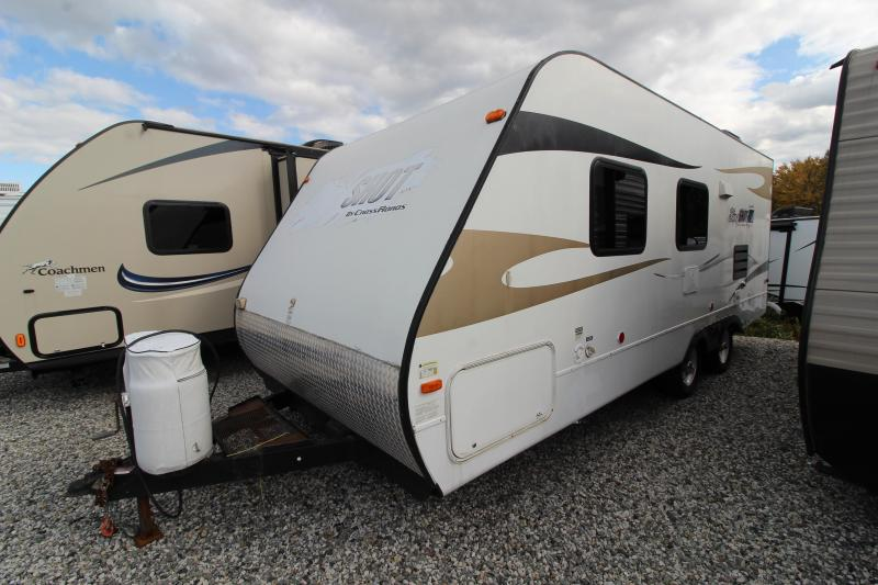 2011 CrossRoadsRV Slingshot 23 CK Travel Trailer