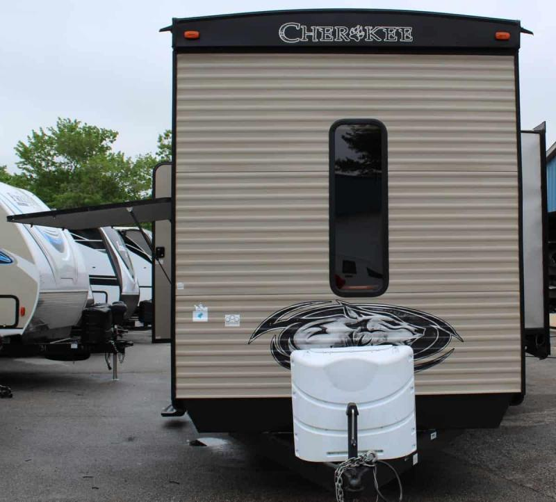 2018 Forest River, Inc. Cherokee 39 RESE Travel Trailer