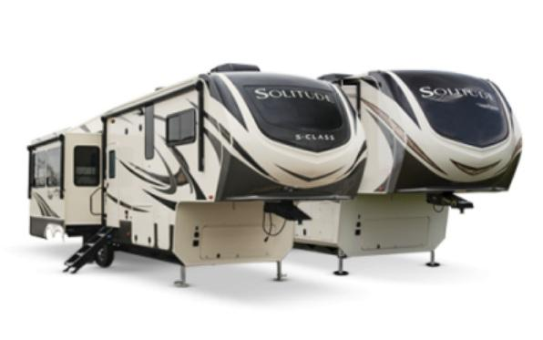2021 Grand Design RV Solitude 390 RK-R Fifth Wheel Campers