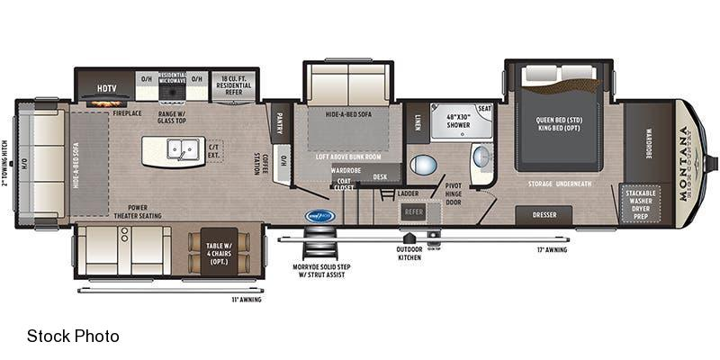 2021 Keystone RV Montana High Country 385 BR Fifth Wheel Campers
