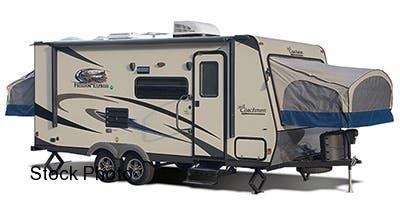 2015 Coachmen Freedom Express 22 DSX Expandable Camper Trailer