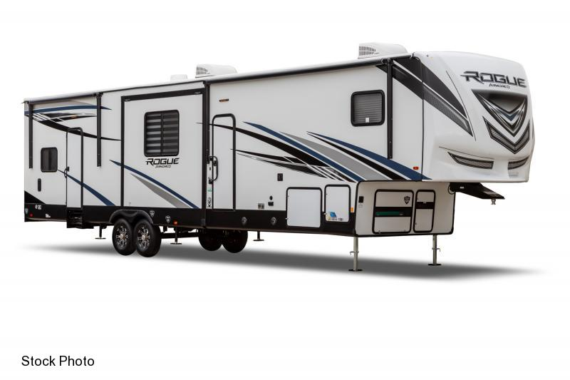 2021 Forest River Vengeance Rogue Armored 371 A Toy Hauler