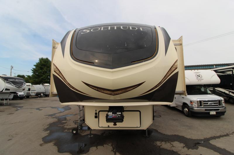 2017 Grand Design RV Solitude 374 TH Toy Hauler