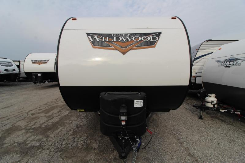 2021 Forest River Inc. Wildwood 26 DBUD Travel Trailer