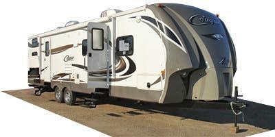 2013 Keystone RV Cougar X-Lite 28RBS Travel Trailer