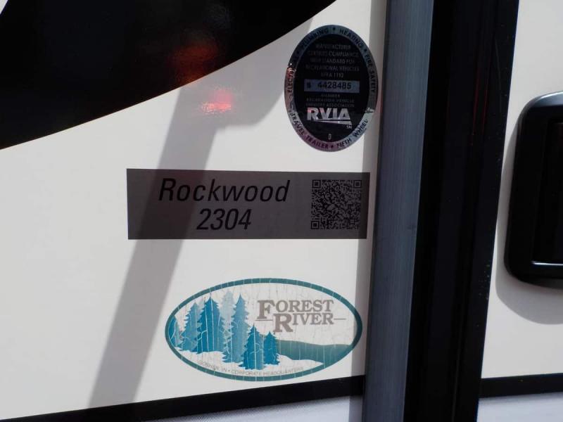 2017 Forest River Rockwood Mini Lite 2304 Travel Trailer